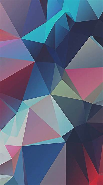 Iphone Geometric Abstract Wallpapers Poly Low Background