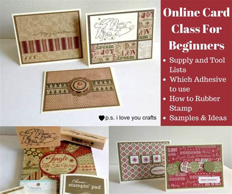 card class  beginners ps  love  crafts