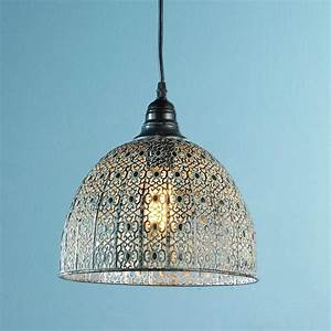 Vintage lace pendant lighting by shades of light