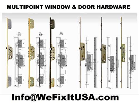 multipoint hardware parts active door inactive door