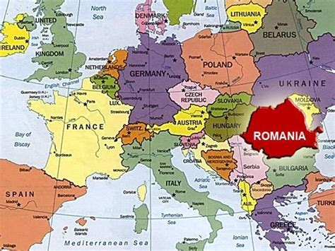 romania europe map map  romania  europe eastern