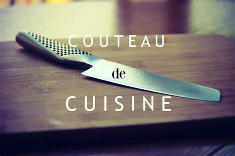comment utiliser un couteau de cuisine