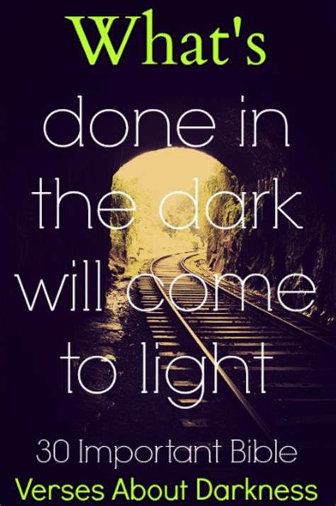 scriptures on light 30 important bible verses about darkness