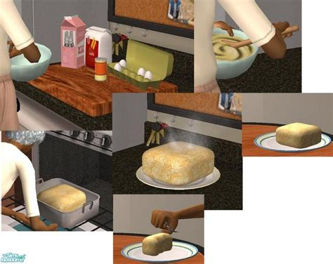 cuisine sims 3 theninthwave 39 s food cake