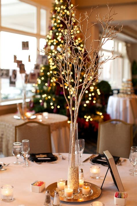 black white and gold centerpieces for wedding wedding centerpieces black white silver gold winter wedding www katemagee my wedding