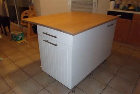 fabriquer ilot central cuisine plan de travail exterieur en bois 6 fabriquer ilot