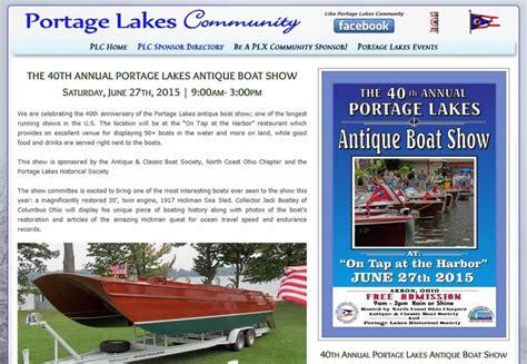 portage lakes ohio events entertainment akron oh 44319