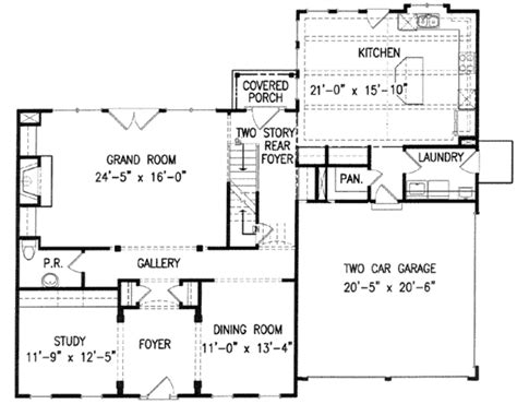 customized wall colonial style house plan 4 beds 3 50 baths 2936 sq ft