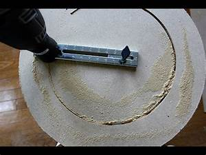 How to cut wood circles? - YouTube