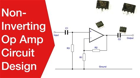 Amp Non Inverting Amplifier Design Operational