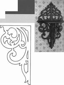 Kalkfarbe Für Holzmöbel : scroll saw shelves deco selber herstellen pinterest holzideen regal und holz ~ Markanthonyermac.com Haus und Dekorationen