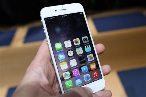 how much is iphone 6 plus on with the new larger iphones