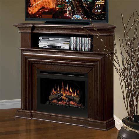 Corner Tv Stand With Fireplace Decofurnish
