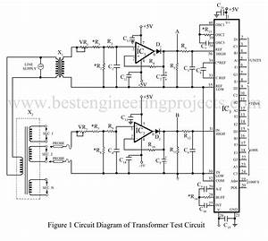 Transformer Test Circuit To Overcome Line Voltage Variation