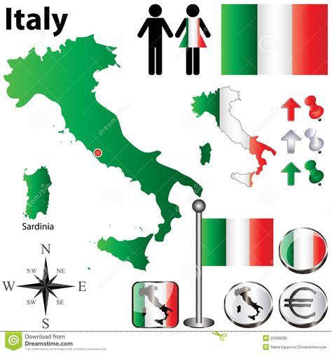 Carte De Image Libre by Carte De L Italie Image Libre De Droits Image 25288286
