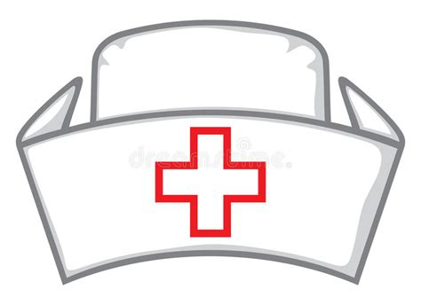 nurse hat cap stock vector illustration of clinical practitioner 35116256
