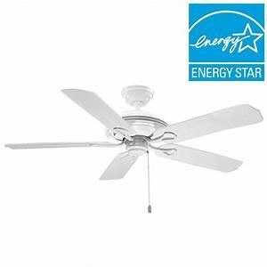 Hunter mariner in indoor outdoor white ceiling fan