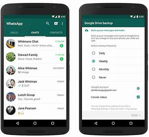 back up all your whatsapp messages onto google drive With google documents backup