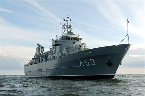 Baltijas jūrā notiek starptautiskās mācības