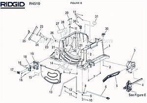 Ridgid R4510 Parts List And Diagram   Ereplacementparts Com