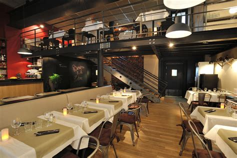 cuisine ouverte salon brasserie la cantine de deauville la cantine de deauville