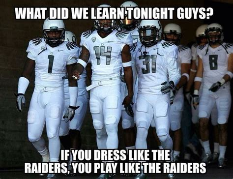 Oregon Ducks Meme - oakland raiders football and oregon ducks on pinterest