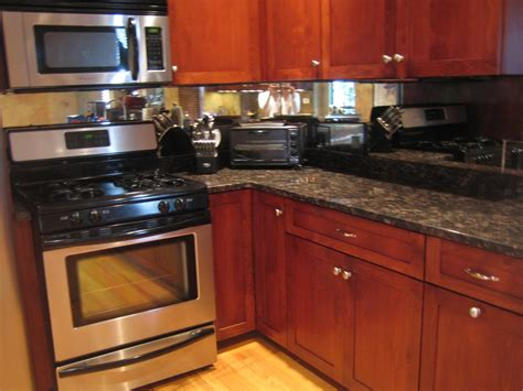 where to buy kitchen backsplash tile marvelous cherry wood kitchen cabinetry painted with mirror backsplash also granite