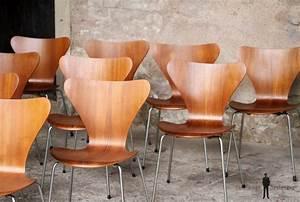 Chaise Bois Vintage : 10 chaises vintage scandinave teck fritz hansen jacobsen n 7 produit rare gentlemen designers ~ Teatrodelosmanantiales.com Idées de Décoration