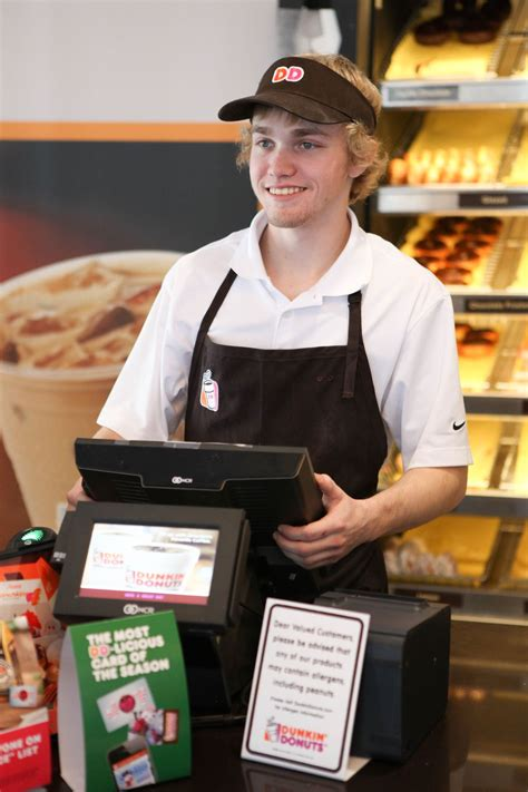 Cashier at Dunkin Donuts... - Sizzling Platter Office ...