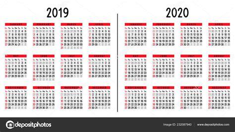 calendario semana comienza domingo ilustracion