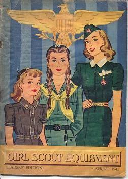 girl scouts  service world war ii