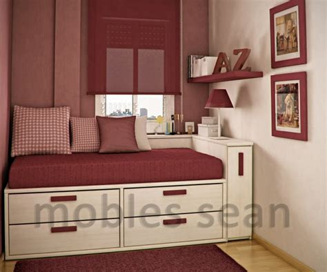 small spaces bedroom ideas space saving designs for small kids rooms 17342   red white small kids room 665x553