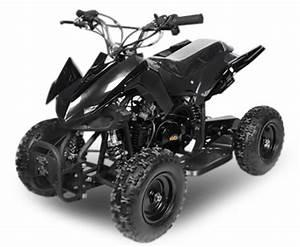 Quad Python 50cc 4 Temps Noir