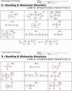 50 Lewis Structure Practice Worksheet In 2020