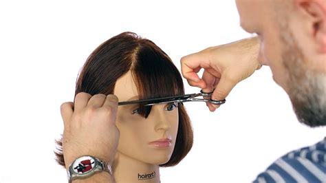 How to Cut Bangs TheSalonGuy YouTube