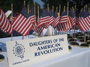 Flags from Daug... Daughters Of The American Revolution