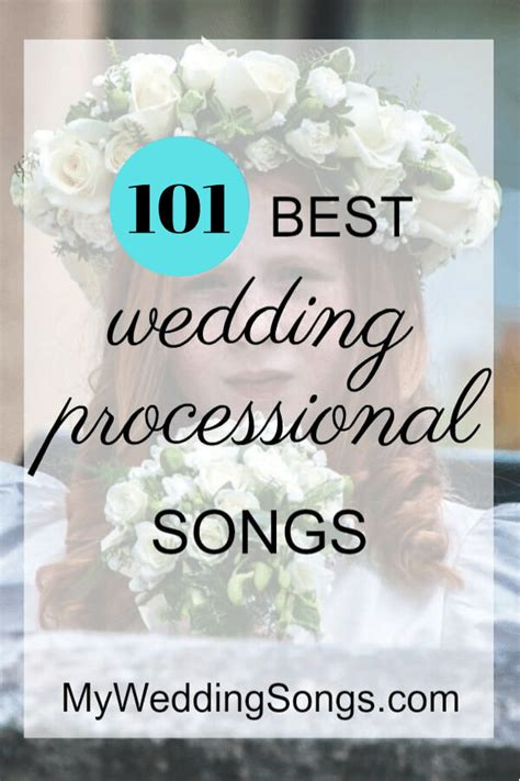 If you're a serious country music lover, you probably already know that country songs make amazing songs to walk down the aisle to, with sentimental (but not too sappy!) lyrics that perfectly. UPDATES: 101 Processional Songs for Walking Down the Aisl… | Wedding ceremony music processional ...