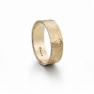 gold mens hammered wedding ring frillybylily With hammered wedding rings