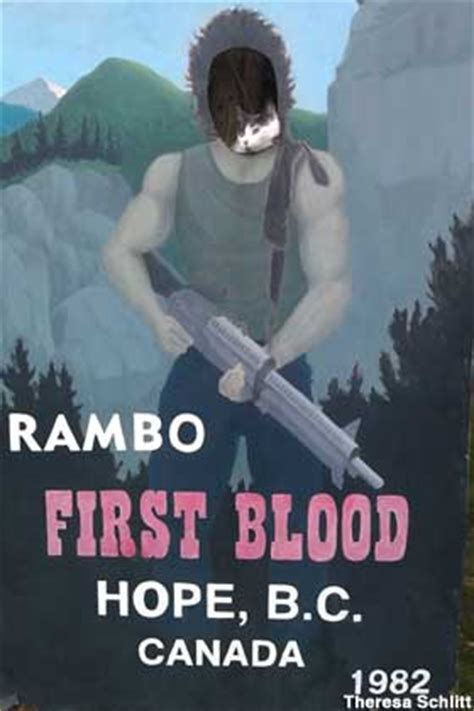 hope bc canada town destroyed  rambo
