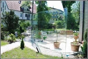 Windschutz terrassen glas terrasse house und dekor for Terrassen windschutz glas