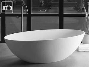 Freistehende Design Badewanne Santino Santino Quartz