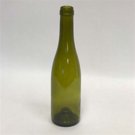 The free psd mockup file consists of. 375 mL Dead Leaf Green Burgundy Wine Bottles, Push-Up ...