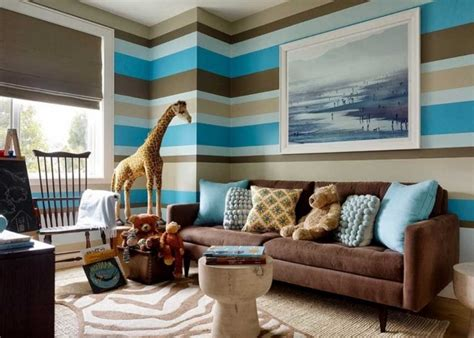 blue and brown living room decor brown blue living room ideas