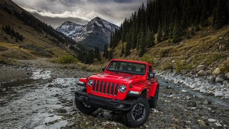Wallpaper Jeep Wrangler Rubicon, 2018, Automotive / Cars