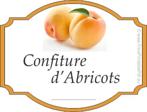 195 169 tiquettes pour pots de confiture abricot