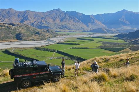 Boat Driving Into Helicopter by Essential Wanaka Combo Jet Boat Helicopter 4wd Safari