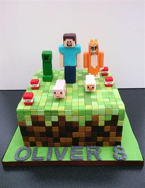 Minecraft Birthday Cake « Susie's Cakes