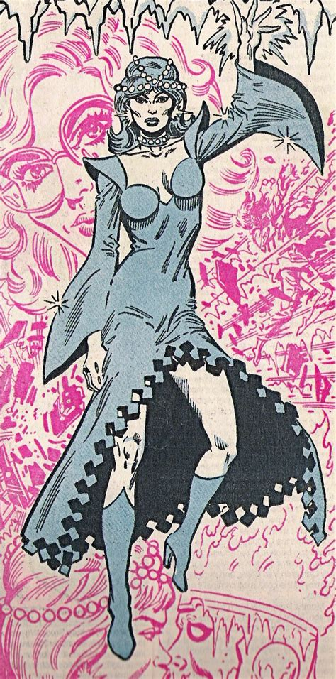 crystal frost  earth dc comics