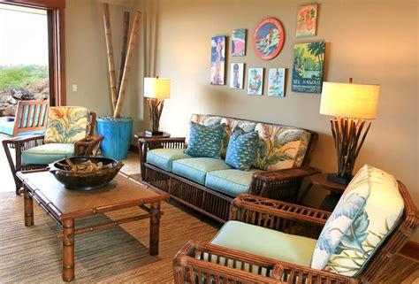 kukio resort home tropical living room hawaii