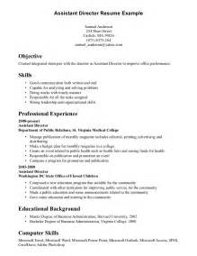 Resume Ideas For Skills by Skills Resume Exles Berathen